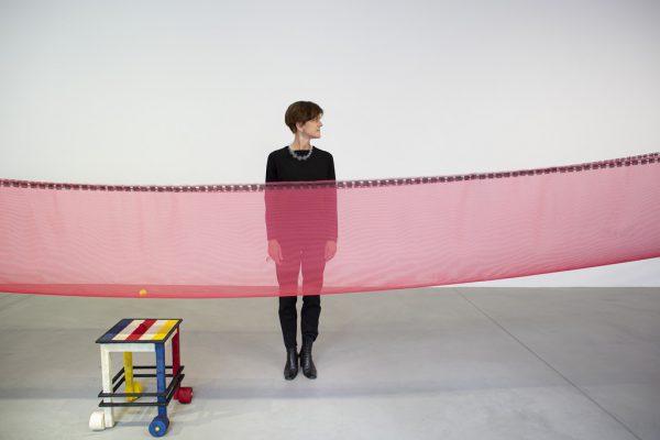 "Uta Belina Waeger und ""Mondrian reloaded"".Petra Rainer"