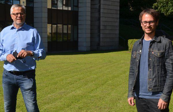 Roland Frühstück (ÖVP) und Daniel Zadra (Grüne) sind sich bei der Reform der direkten Demokratie grundsätzlich einig. ÖVP/GRÜNE