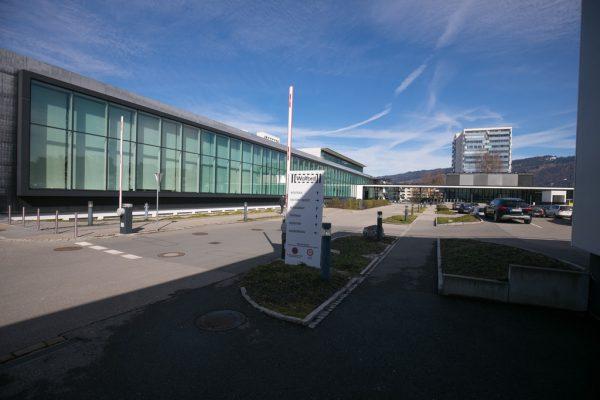 Wolford-Sitz gehört jetzt dem Beschlägehersteller Blum. Der Strumpfhersteller mietet das Gebäude.Hartinger