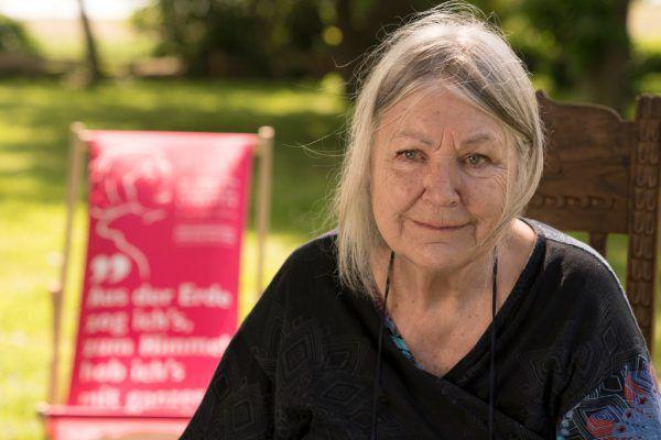 Zu Tränen gerührt: Die 80-jährige deutsche Autorin Helga Schubert berührte mit ihrem autobiografischen Text.ORF