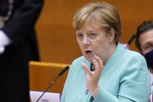 Angela Merkel wirbt für Europa