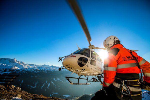 Bei Wucher will man das Auslandsgeschäft ausbauen.Philipp Schwegler/Wucher Helicopter
