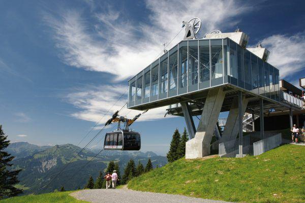 Bergbahnen sind mit bisheriger Saison zufrieden.Vorarlberg TOurismus/Berchtold