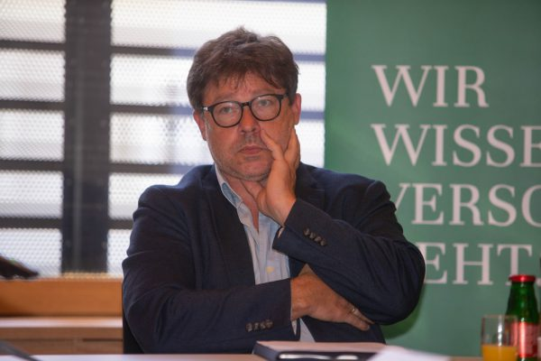 Burkhard Walla, Vizepräsident der Vorarlberger Ärztekammer.hartinger