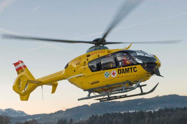 Der Rettungshelikopter war im Einsatz.Symbolbild/NEUE