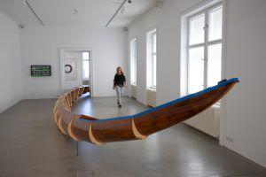 Wenn ein Ruderboot zu Kunst wird