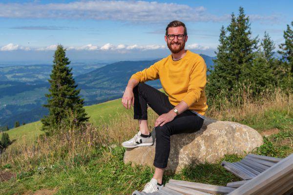 Der Bregenzerwälder Johannes Gasser ist seit November 2019 Landtagsabgeordneter.Stiplovsek (2), Hartinger
