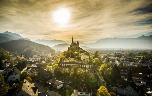 Der neue Hauptsitz der Raiffeisenbank Montfort soll Rankweil sein.hartinger, Raiff-eisenbank Feldkirch, Rankweil, amKumma