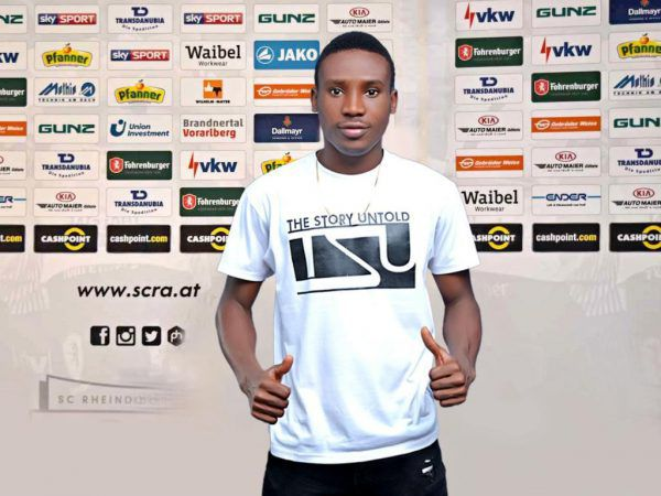 Der neue Spieler bei Altach: Nana Kofi Babil.verein
