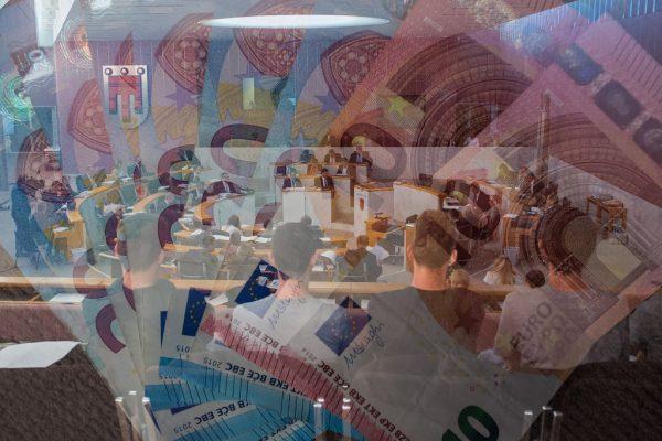 Der Rechnungsabschluss wird kommende Woche im Landtag diskutiert.Archiv (3)