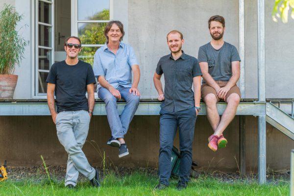 Der Vorstand des Vereins von links: Frank Stasi, Henry Ammon, Andreas Dirnberger, Matthias Fortenbacher.Stiplovsek