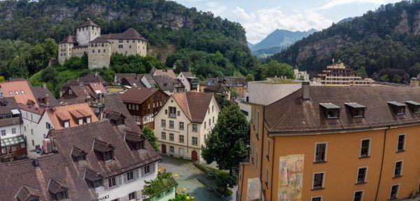 Ein Zeichen für Gastronomen in Feldkirch.Hartinger