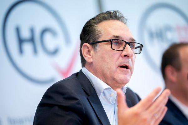 Heinz-Christian Strache.APA
