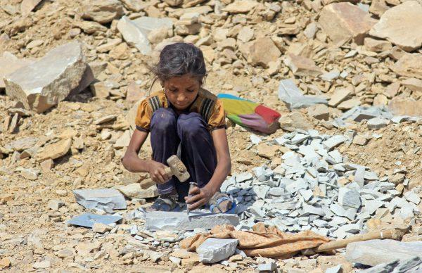 Oft werden Kinder Opfer von Menschenhandel. dpa