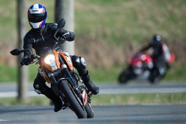 Wer sein Motorrad richtig fährt, vermeidet auch Lärm. APA