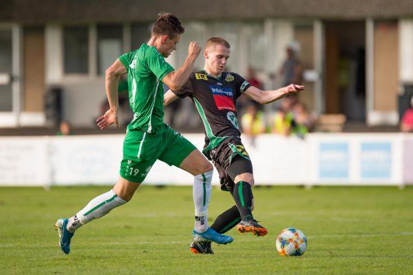 Zum Auftakt der Eliteliga empfängt FCLauterach (r.) den Dornbirner SV.stiplovsek