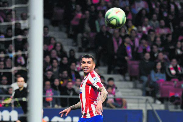 Angel Correa ist einer der zwei positiv getesteten Atletico-Spieler.AFP