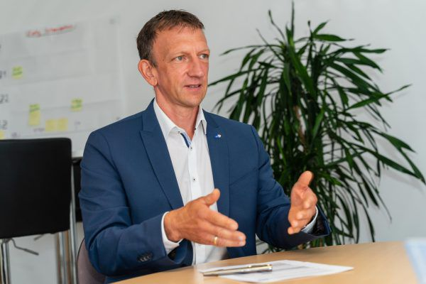 AMS-Vorarlberg-Geschäftsführer Bernhard Bereuter.Dietmar Stiplovsek
