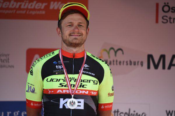 Daniel Federspiel war mit der Silbermedaille überglücklich.Haumesser