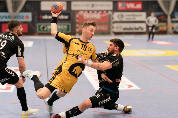 Das letzte Handballspiel auf Vorarlberger Boden fand am 7. März in Bregenz statt.Gepa/Lerch