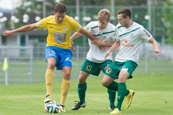 Der VfB Hohenems (oben) feierte zuletzt 2014 gegen Eugendorf einen Sieg im Cup.Stiplovsek