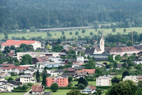 Die Gemeinde Nenzing. Oliver Lerch