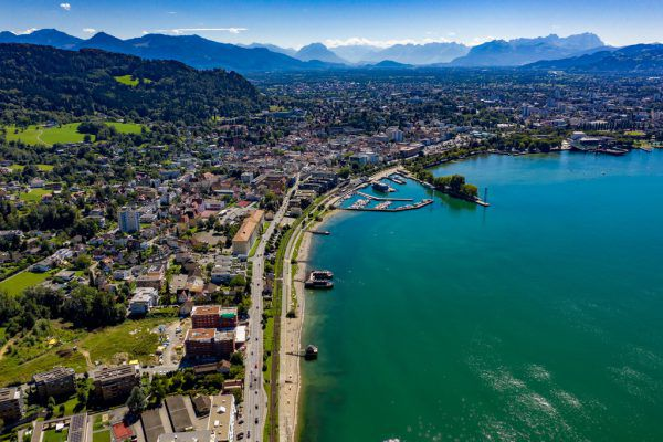 Die Bahnfrage führt in der Bregenzer Stadtpolitik zu Diskussionen.Stiplovsek