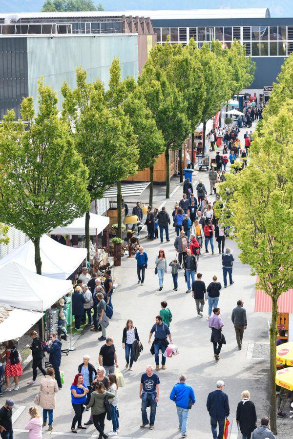 Die Dornbirner Herbstmesse geht vom 9. bis 13. September über die Bühne.Udo Mittelberger