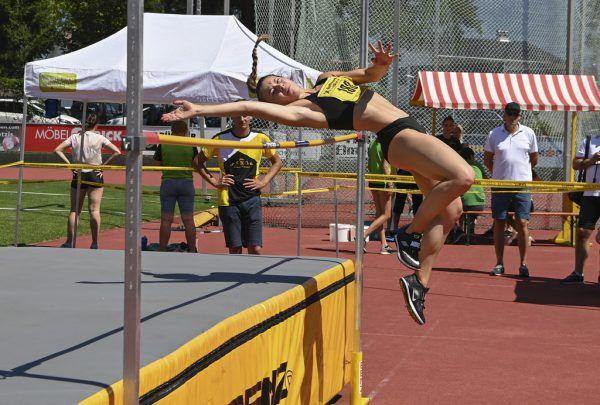 Isabel Posch bewies bei den Landesmeisterschaften einmal mehr ihre Klasse, holte drei Goldmedaillen.M. Gasser