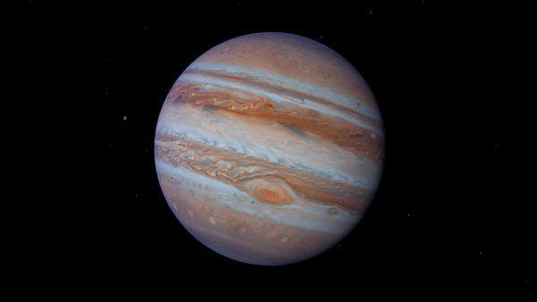 Jupiter ist am Abendhimmel als erster Planet zu sehen.Shutterstock