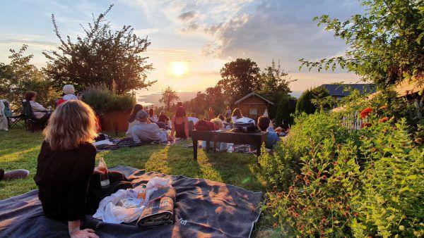 Konzert im Sonnenuntergang mit Stereo Ida.Bodensee-Vorarlberg Tourismus