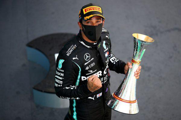 """Lewis Hamilton ist kurz davor, der erfolgreichste Rennfahrer aller Zeiten zu werden. """"Was für ein Tag, es lief richtig gut"""", freute sich der Brite.AP"""
