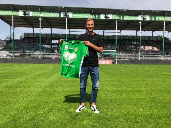 Matthias Maak trägt ab sofort Grün.verein