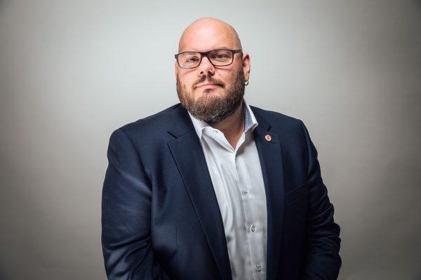 Mike Pansi, Fachgruppenobmann Gastronomie. Frederick Sams