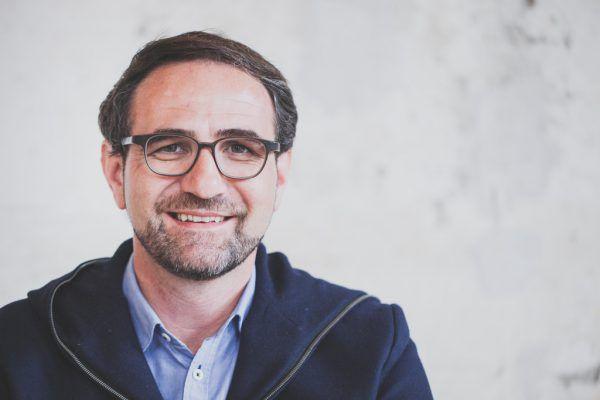 Reinhard Stemmer, Landesvorsitzender der Gewerkschaft.Hartinger
