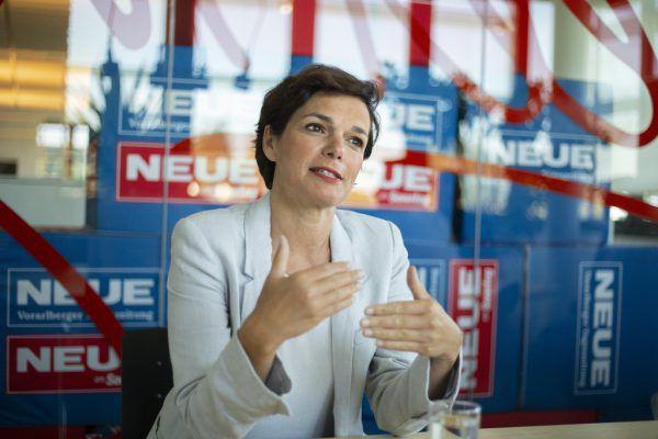 SPÖ-Bundesparteivorsitzende Pamela Rendi-Wagner war mit Vorarlbergs SPÖ-Chef Martin Staudinger bei der NEUE zu Gast.Paulitsch
