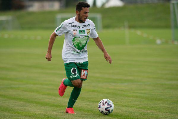 Testspieler Joao Soares war einer der Aktivposten.Stiplovsek