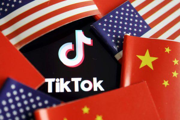 TikTok sorgt für böses Blut zwischen den zwei Supermächten. Reuters