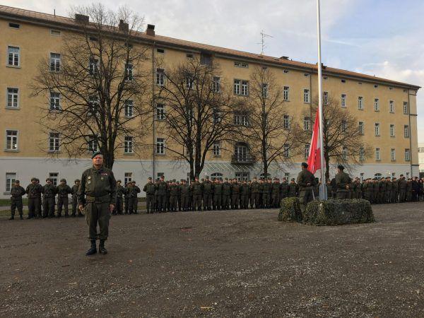Über 100 Berufssoldaten und bis zu 100 Grundwehrdiener sind in Bregenz stationiert.Matthias Rauch