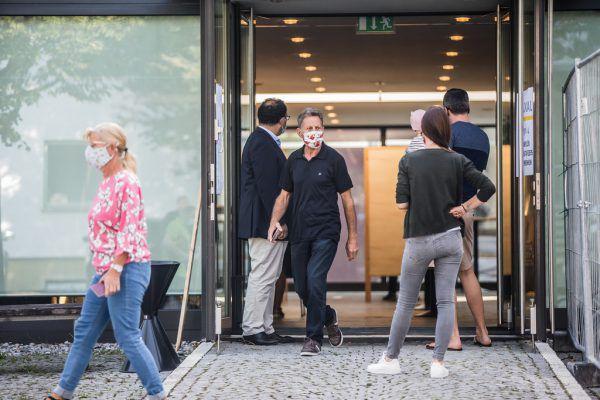 Am Sonntag wurde in allen Gemeinden in Vorarlberg gewählt.Sams (3)