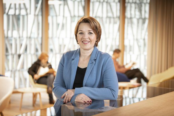 Gemeindeverbandspräsidentin Andrea Kaufmann.LUca Fasching