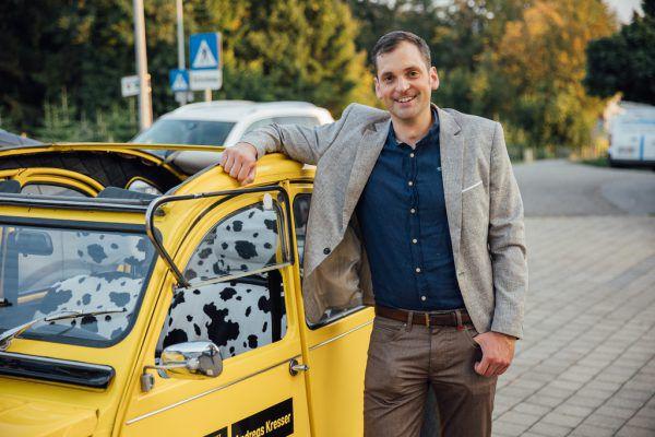 Andreas Kresser ist seit vergangenem Jahr Bürgermeister.