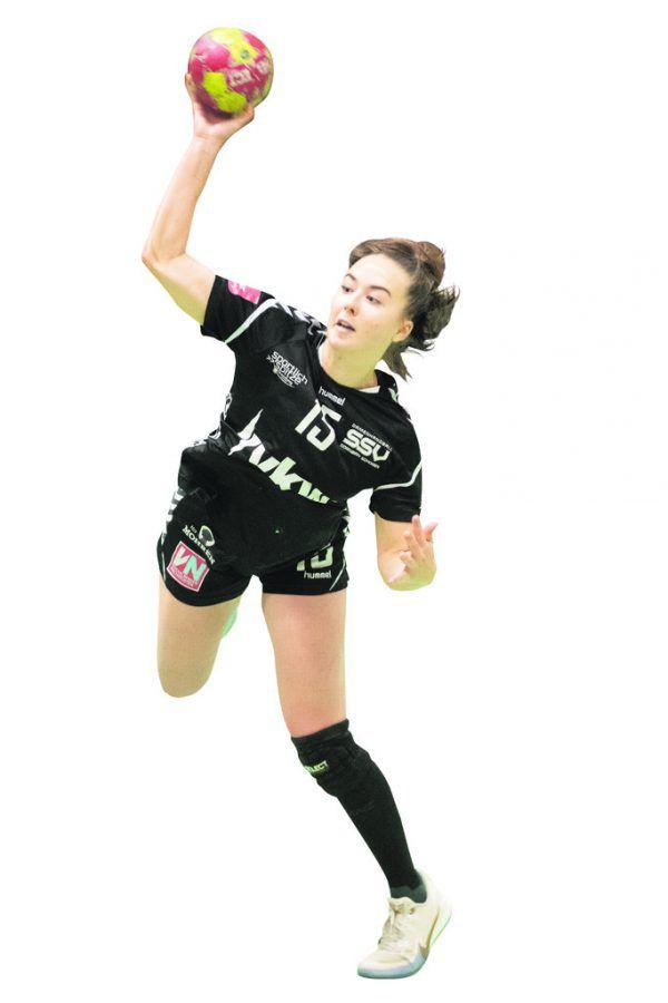 Beatrix Kerestély (19) wechselte wie Trainer Roger Bertschinger erst im Winter von HC Goldach-Rorschach zum SSV.sams