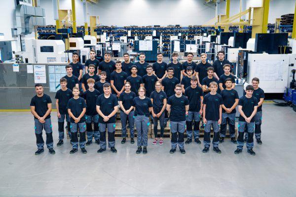 Bei Meusburger in Wolfurt arbeiten 34 neue Lehrlinge.Meusburger