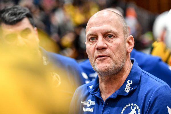 Bregenz-Trainer Markus Burger sieht in seinem jungen Team viel Potenzial. Gepa/LErch