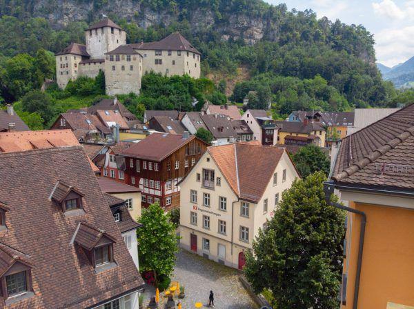 Die Attraktivität von Feldkirch als Einkaufsstadt wird debattiert.Hartinger