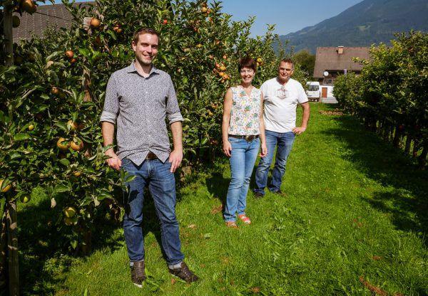 Die Familie Rauch bewirtschaftet einen Hof in Schlins.Heidi Salmhofer (3)