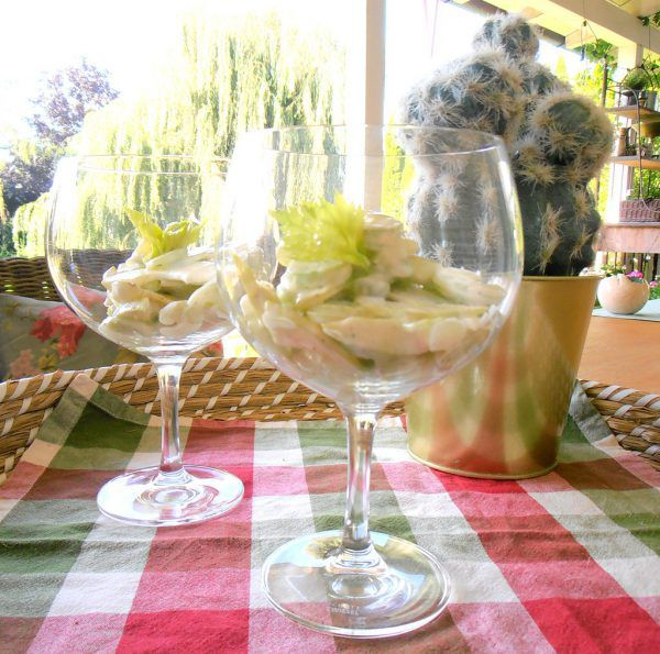 Ein herrlich frischer Herbstsalat.Ulrike Hagen