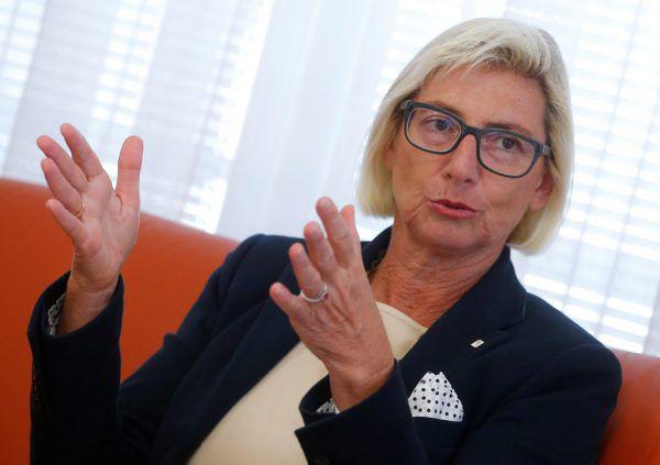 Elisabeth Stadler, CEO der Vienna Insurance Group.Reuters
