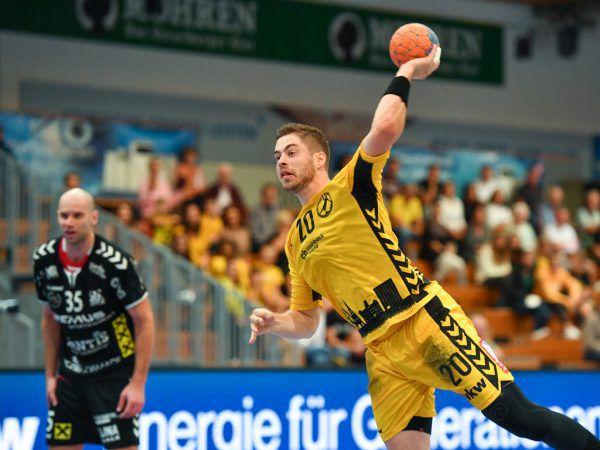 Esegovic war mit sieben Treffern bester Werfer bei Bregenz.lerch